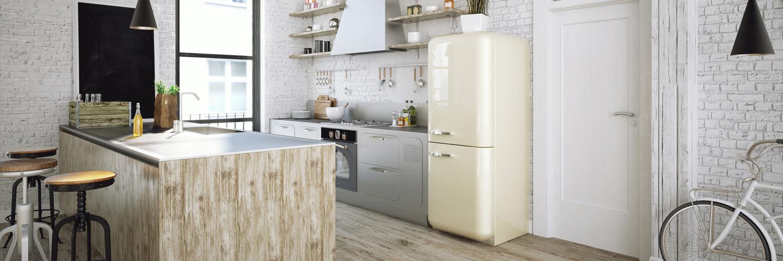 Una cocina vintage y moderna for Cocinas vintage modernas